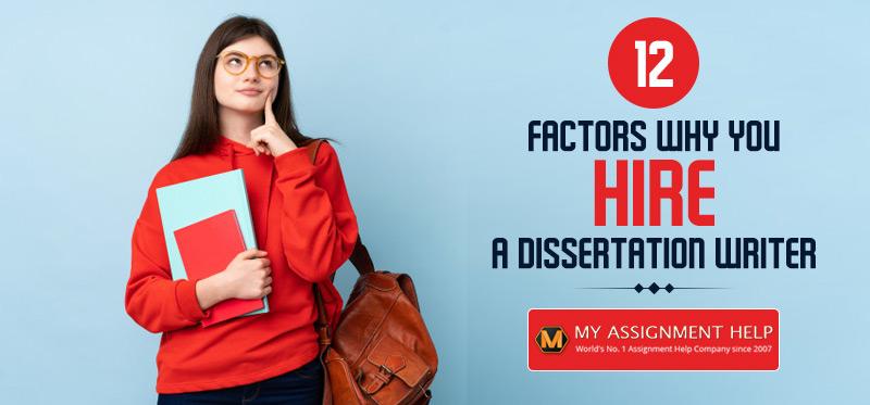 Hire A Dissertation Writer