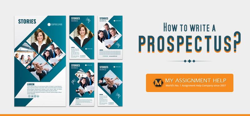 How to Write a Prospectus