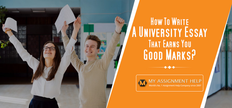How To Write A University Essay That Earns You Good Marks
