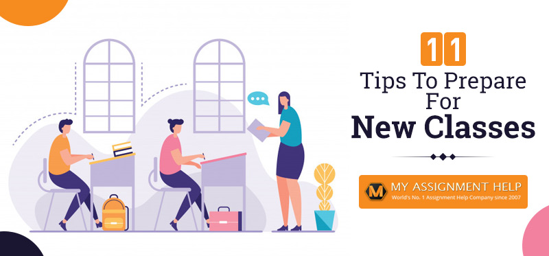 11 Tips To Prepare For New Classes