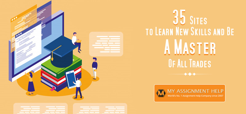 35 Sites to Learn New Skills