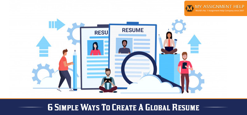 Ways to Create a Global Resume