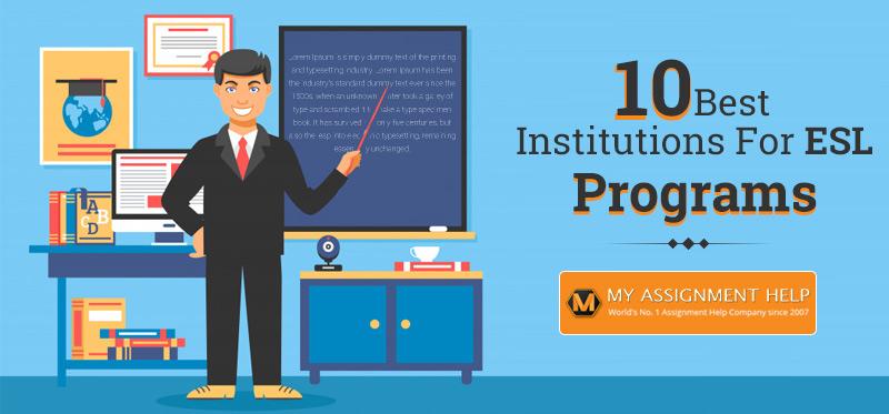 10 Best Institutions for ESL Programs