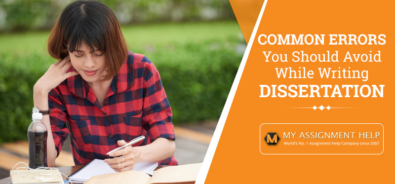 Common Dissertation Mistakes to Avoid
