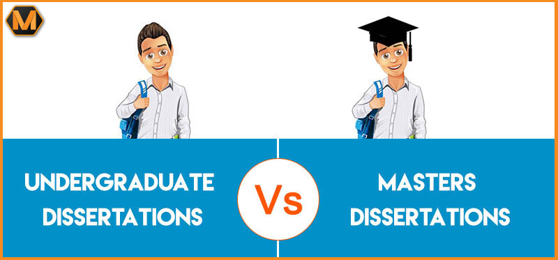 Differences between Master's and Undergraduate Dissertations