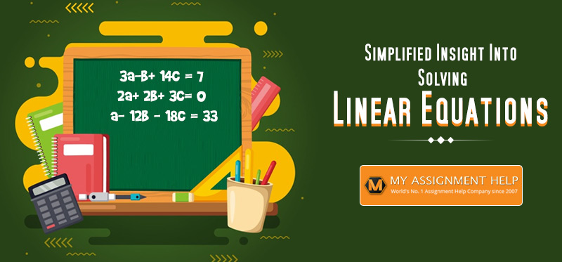 How To Solve Linear Equation