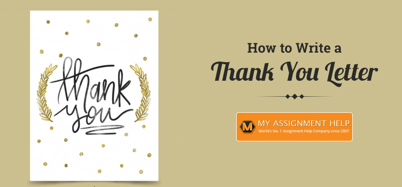 How to Write Thank You Letter
