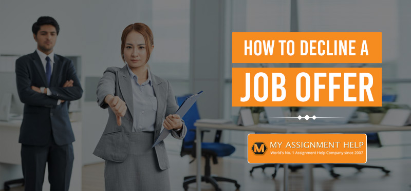 How to Reject a Job Offer